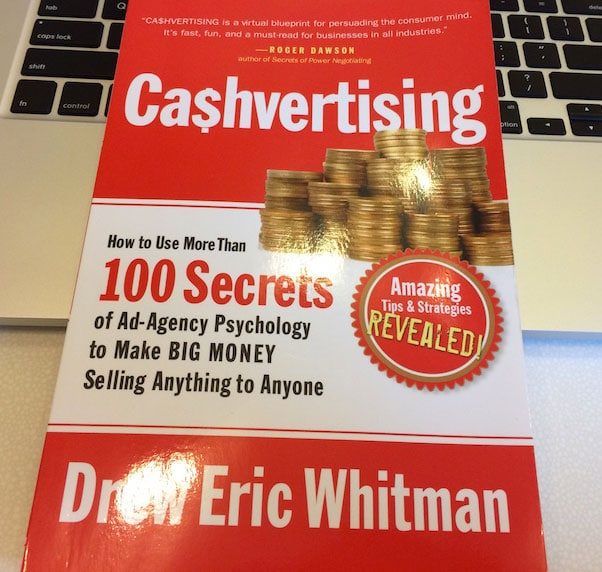 Cashvertising By Drew Whitman